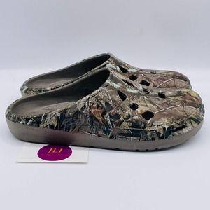 Realtree Men's Camouflage Clog Slip-On Shoe Size 9